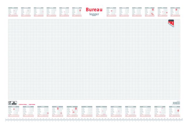 Bureau onderlegblok