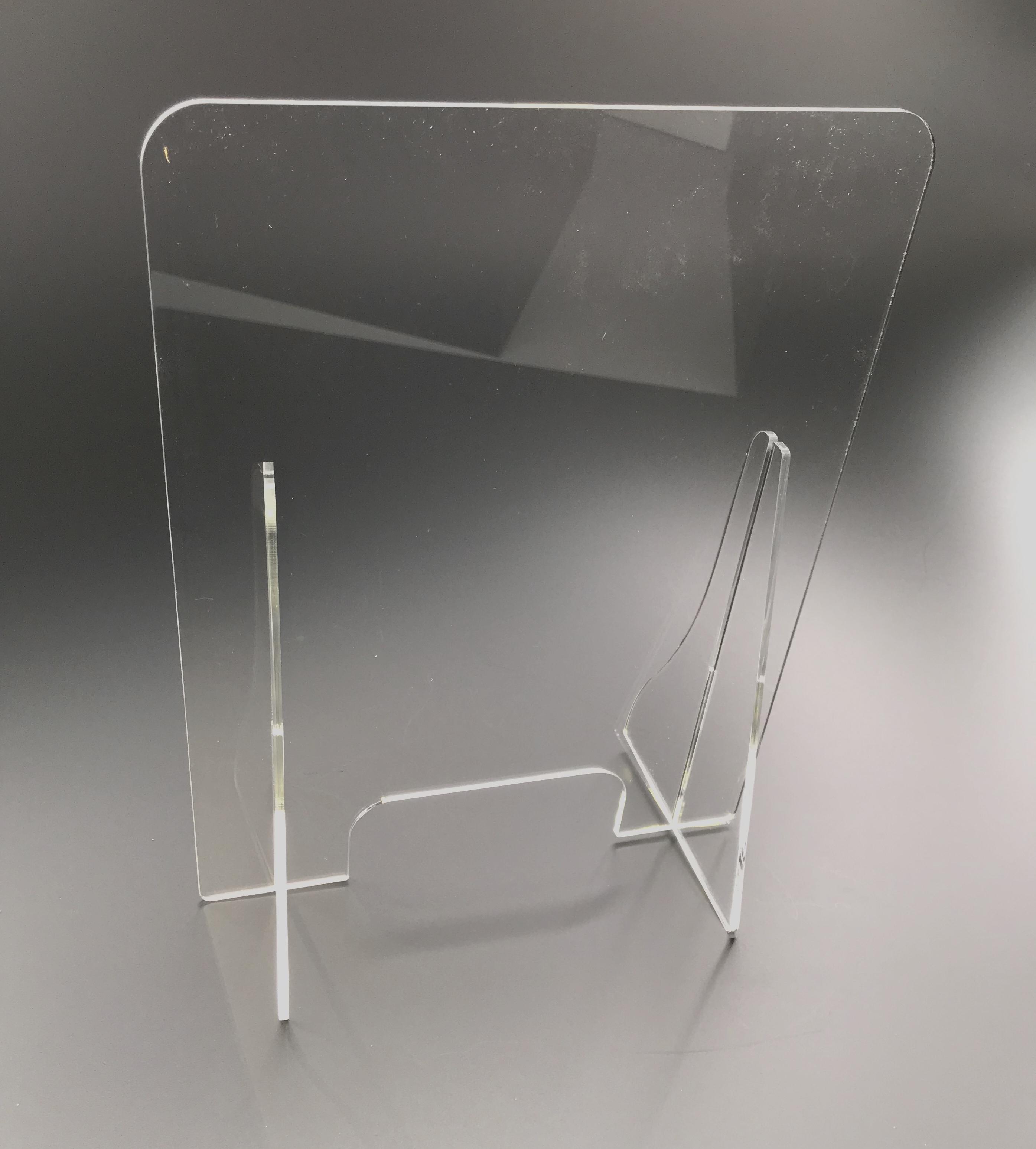 Spatscherm plexiglas 100x80