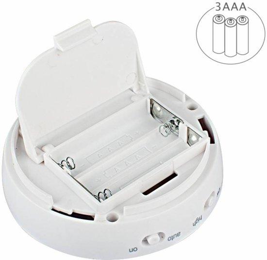 Benson LED lamp 360° roterend met bewegingssensoren